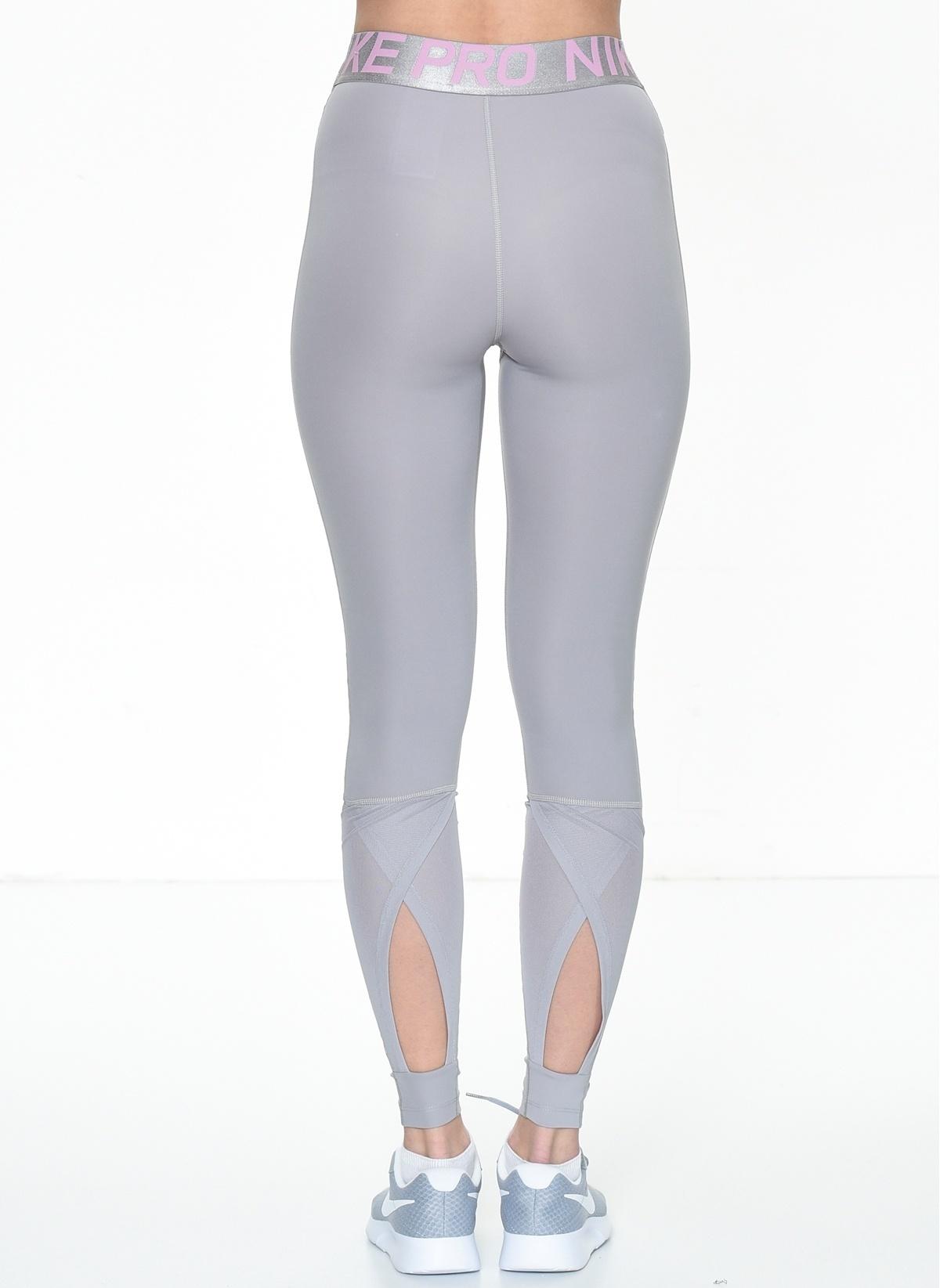 edf5acd35 Nike Kadın Tayt Atmosphere Grey/Pink Rise/Whit İndirimli Fiyat ...